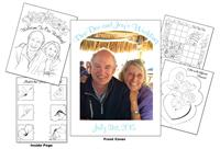 Dee Dee and Jay's Wedding Coloring Book