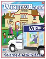WindowRama Coloring and Activity Book