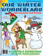 Our Winter Wonderland Power Panel Coloring Book