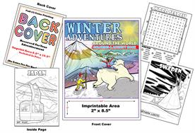 Winter Adventures - Imprintable Coloring & Activity Book