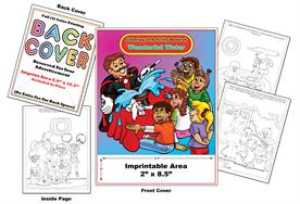 Wonderful Water - Imprintable Coloring & Activity Book