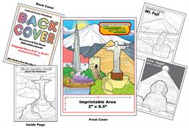 Wonders of the World - Imprintable Coloring Book