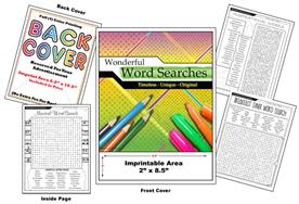 Wonderful Word Searches - Imprintable Coloring Book