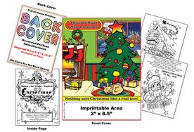 Twas the Night Before Christmas - Imprintable Coloring Book