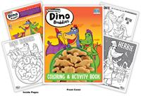 Yummy Dino Buddies Coloring and Activity Book