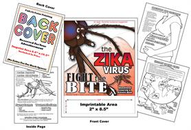 Zika Virus - Fight the Bite - Imprintable Coloring & Activity Book