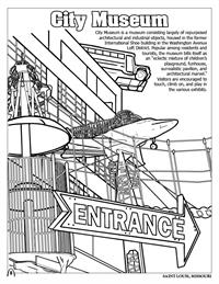 St. Louis Coloring Book - City Museum