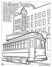St. Louis Coloring Book - Delmar Loop