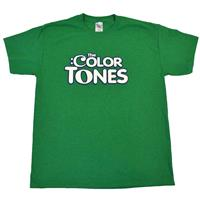 The Color Tones® - brand T-Shirt - front green