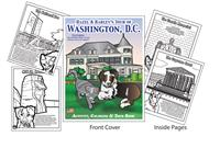 Hazel & Harley's Tour of Washington, D.C. Coloring Book