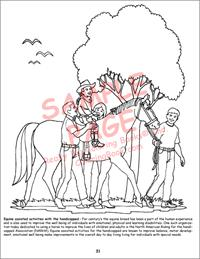 Horses Really Big Giant Coloring Book