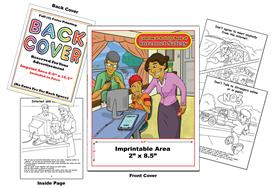 Internet Safety - Imprintable Coloring & Activity Book