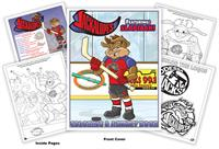 Odessa Jackalopes Hockey Coloring Book
