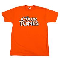 The Color Tones® - brand T-Shirt - front orange