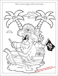 Pirates-Captain coloring page