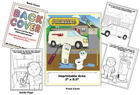 Plumbing - Imprintable Coloring Book