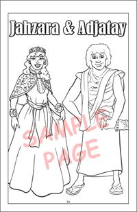 Princesses Travel Tablet Coloring Book - Prince and Princess