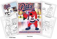 Regina Pats Hockey Coloring Book
