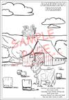 American Farmer Coloring Book