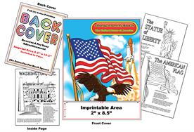 United States of America - Imprintable Coloring & Activity Book