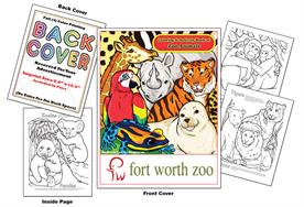 Zoo Animals - Imprintable Coloring & Activity Book