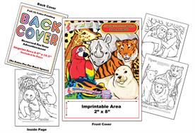Zoo Animals - Imprintable Coloring & Activity Book with Song