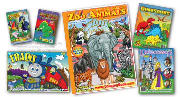 retail coloring books - Coloring Books